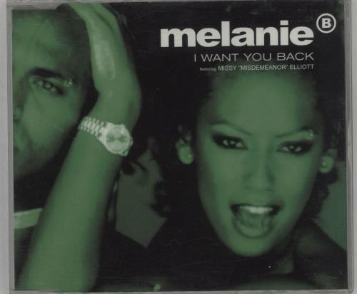"Melanie B I Want You Back CD single (CD5 / 5"") UK M.BC5IW121562"
