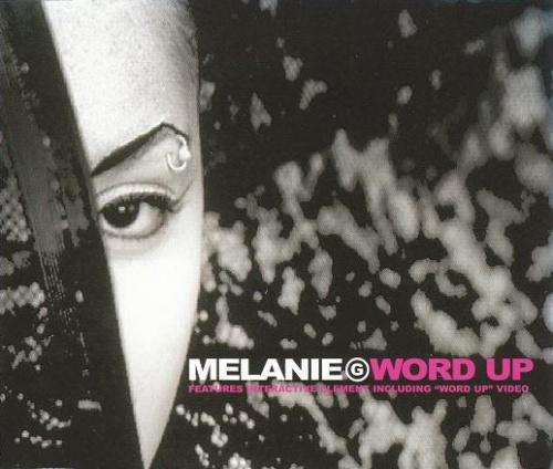 "Melanie B Word Up CD single (CD5 / 5"") UK M.BC5WO139471"