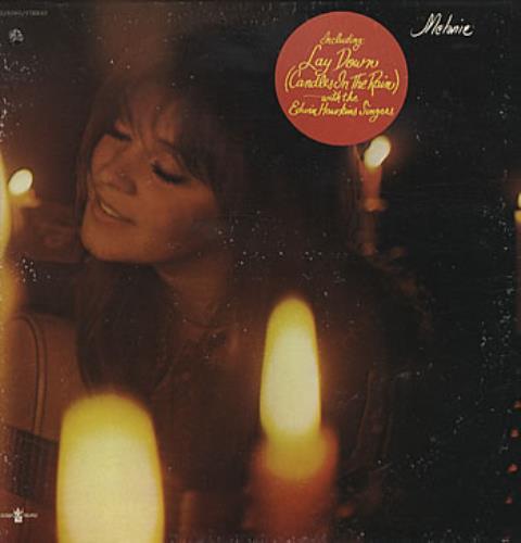 Melanie Candles In The Rain vinyl LP album (LP record) US MLALPCA303150