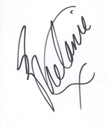 Melanie C Autograph memorabilia UK M.CMMAU717544