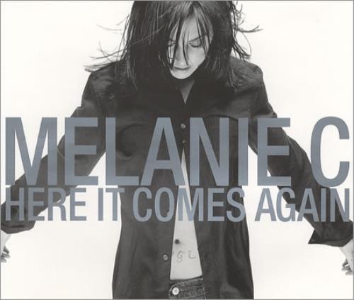 """Melanie C Here It Comes Again CD single (CD5 / 5"""") UK M.CC5HE384058"""
