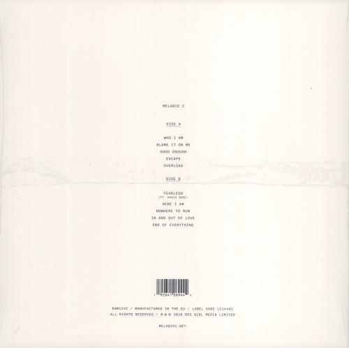 Melanie C Melanie C - Blue Vinyl - Sealed vinyl LP album (LP record) UK M.CLPME775800