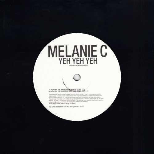 """Melanie C Yeh Yeh Yeh 12"""" vinyl single (12 inch record / Maxi-single) UK M.C12YE258817"""