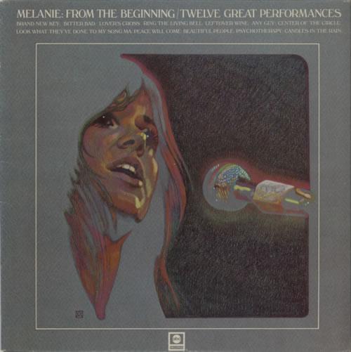 Melanie From The Beginning - 12 Great Performances vinyl LP album (LP record) UK MLALPFR420832