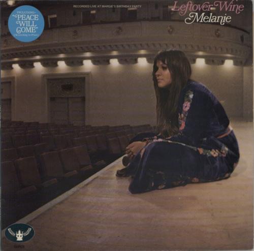 Melanie Leftover Wine - EX vinyl LP album (LP record) UK MLALPLE591221
