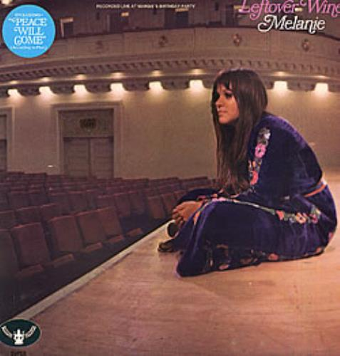Melanie Leftover Wine vinyl LP album (LP record) UK MLALPLE268490