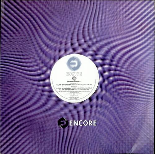 "Melanie Marshall Love Is The Power 12"" vinyl single (12 inch record / Maxi-single) UK M4L12LO505284"