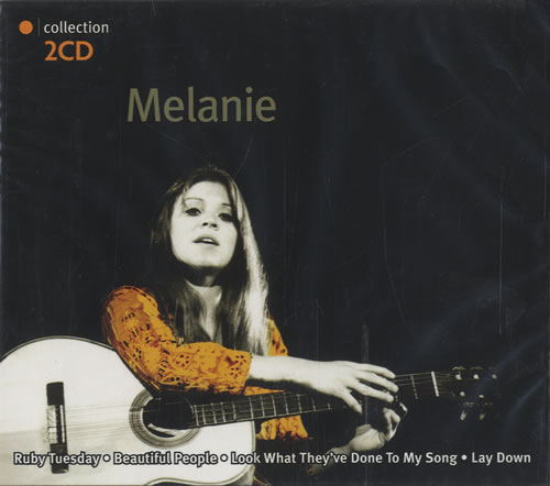 Melanie Orange Collection 2 CD album set (Double CD) Dutch MLA2COR456918