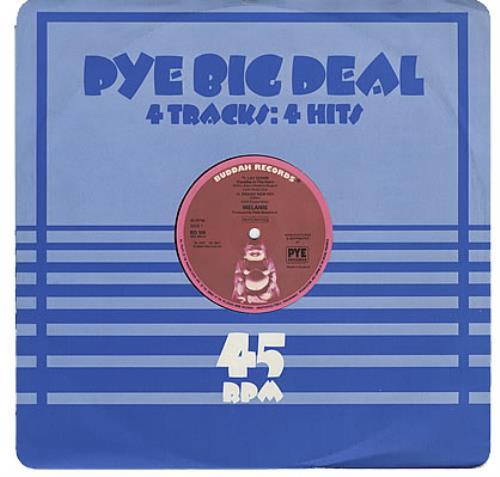 "Melanie Pye Big Deal EP 12"" vinyl single (12 inch record / Maxi-single) UK MLA12LA228943"
