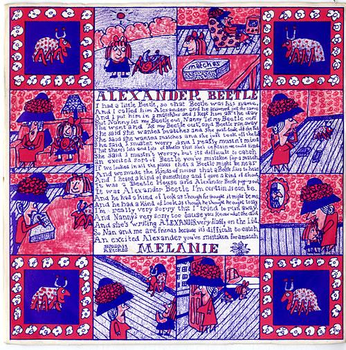 "Melanie Songs For Children 7"" vinyl single (7 inch record) UK MLA07SO612371"