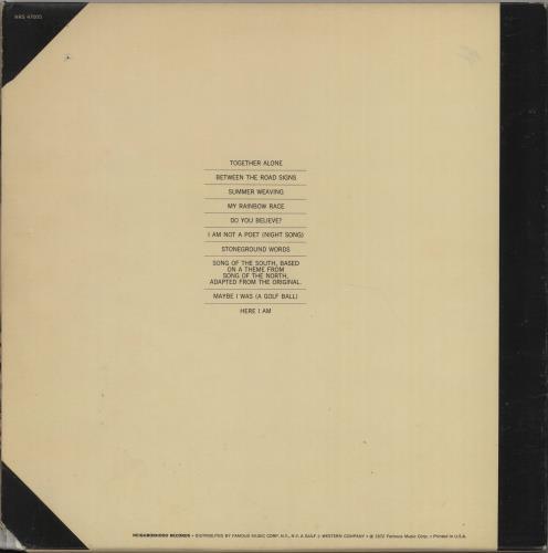 Melanie Stoneground Words + inner + picture inserts vinyl LP album (LP record) US MLALPST668175
