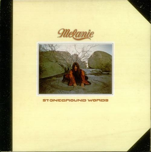 Melanie Stoneground Words vinyl LP album (LP record) UK MLALPST329267