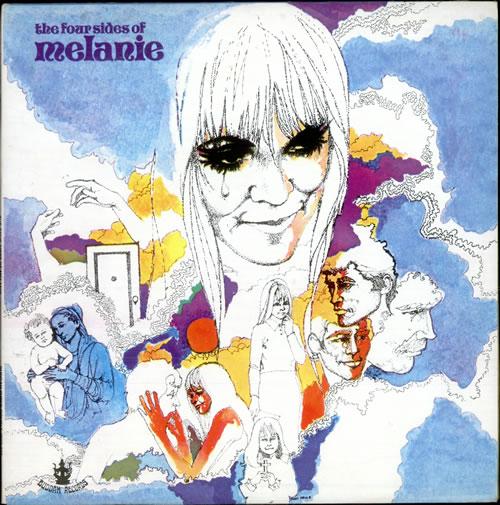 Melanie The Four Sides Of Melanie 2-LP vinyl record set (Double Album) UK MLA2LTH514398