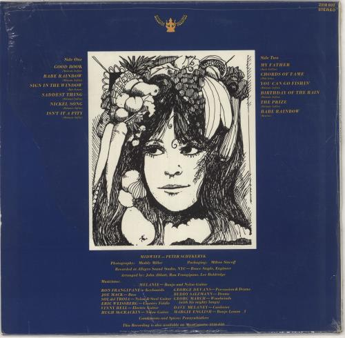 Melanie The Good Book - shrink vinyl LP album (LP record) German MLALPTH441784