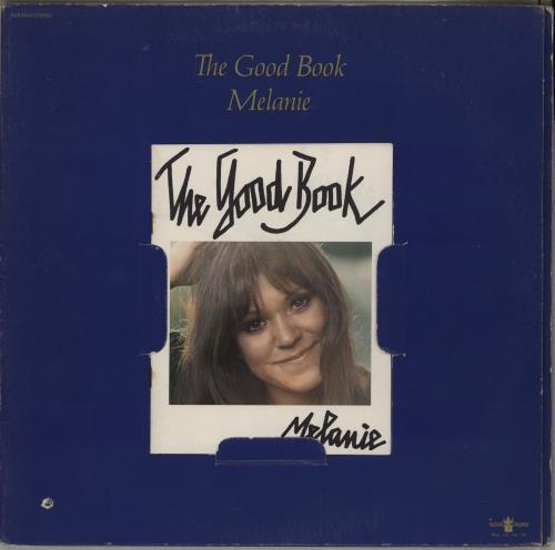 Melanie The Good Book vinyl LP album (LP record) US MLALPTH751151