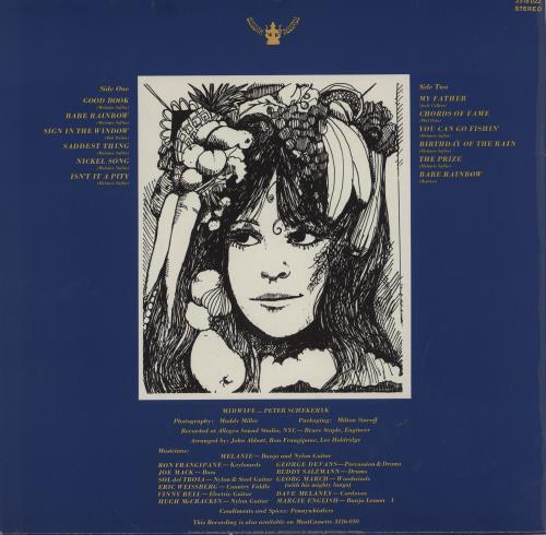 Melanie The Good Book vinyl LP album (LP record) German MLALPTH760055