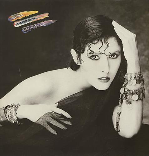 Melissa Manchester Mathematics vinyl LP album (LP record) UK MLRLPMA391348