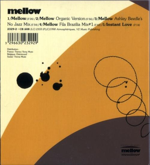 "Mellow Mellow CD single (CD5 / 5"") French MLQC5ME538937"