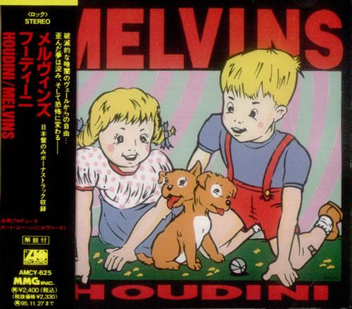 Melvins Houdini CD album (CDLP) Japanese MLVCDHO542007