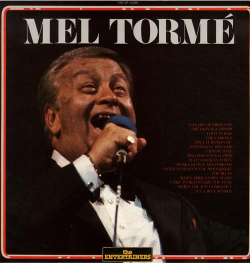 Mel Tormé Mel Tormé vinyl LP album (LP record) Italian MT4LPME562189