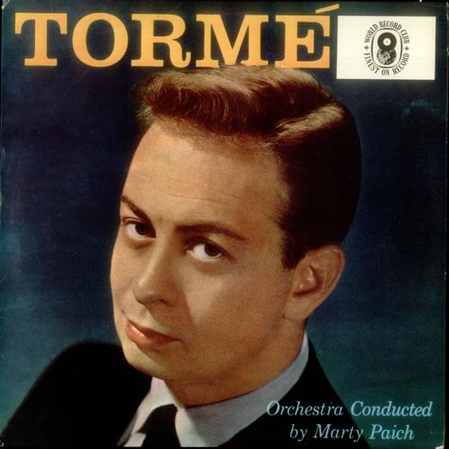 Mel Tormé Tormé vinyl LP album (LP record) UK MT4LPTO543500