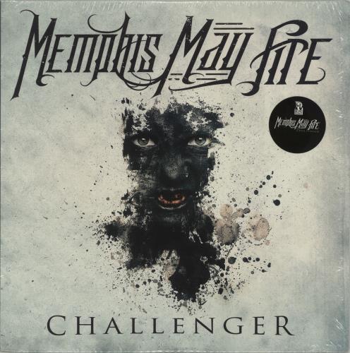 Memphis May Fire Challenger - Clear vinyl vinyl LP album (LP record) US QEMLPCH688202