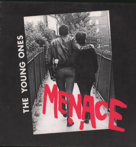 """Menace The Young Ones 7"""" vinyl single (7 inch record) UK MN007TH669439"""