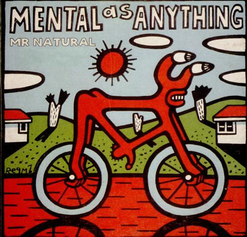 "Mental As Anything Mr Natural CD single (CD5 / 5"") Australian MAAC5MR500656"
