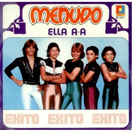 "Menudo Ella A-A 7"" vinyl single (7 inch record) Mexican MNU07EL425114"
