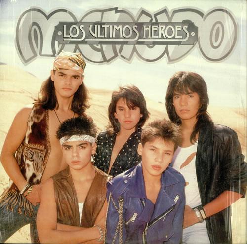 Menudo Los Ultimos Heroes Mexican Promo Vinyl Lp Album Lp