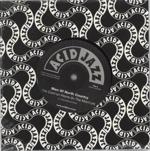 "Men Of North Country I'm Com'un Home (In The Morn'un) - Sealed 7"" vinyl single (7 inch record) UK 3FX07IM766743"