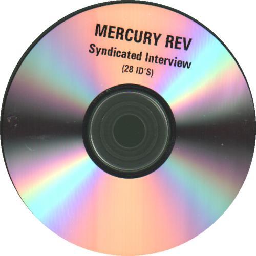 Mercury Rev Interview Disc June 2001 CD-R acetate UK MEVCRIN197384