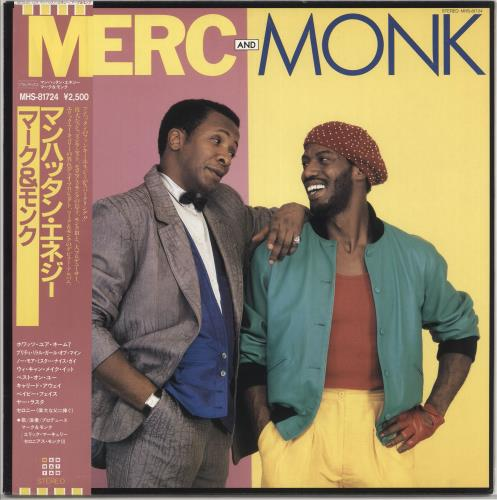 Merc And Monk Merc And Monk + Obi vinyl LP album (LP record) Japanese ZSRLPME719979