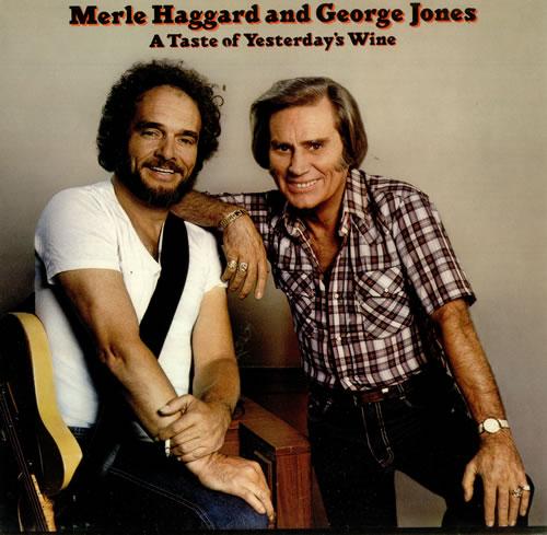 Merle Haggard A Taste Of Yesterday's Wine vinyl LP album (LP record) UK MBJLPAT449194