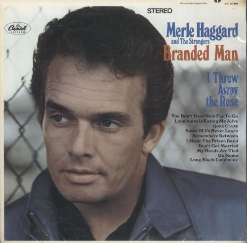 Merle Haggard Branded Man vinyl LP album (LP record) UK MBJLPBR489933