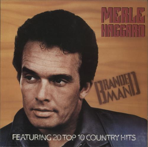Merle Haggard Branded Man vinyl LP album (LP record) UK MBJLPBR724703