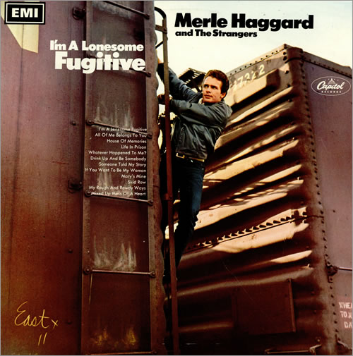 Merle Haggard I'm A Lonesome Fugitive vinyl LP album (LP record) UK MBJLPIM458571