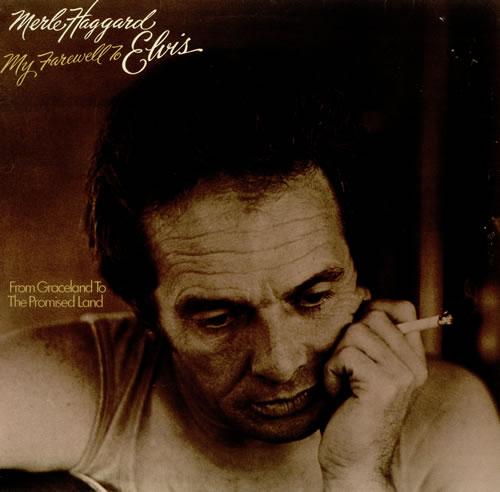 Merle Haggard My Farewell To Elvis vinyl LP album (LP record) UK MBJLPMY438029