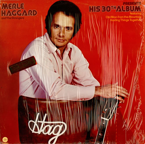 Merle Haggard Presents His 30th Album vinyl LP album (LP record) US MBJLPPR458738