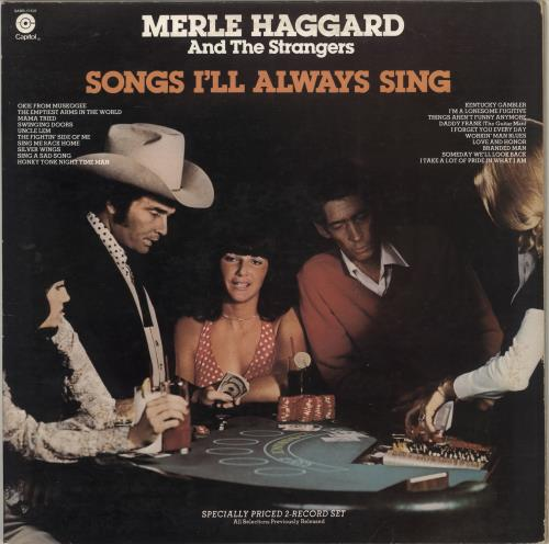 Merle Haggard Songs I'll Always Sing 2-LP vinyl record set (Double Album) US MBJ2LSO715624
