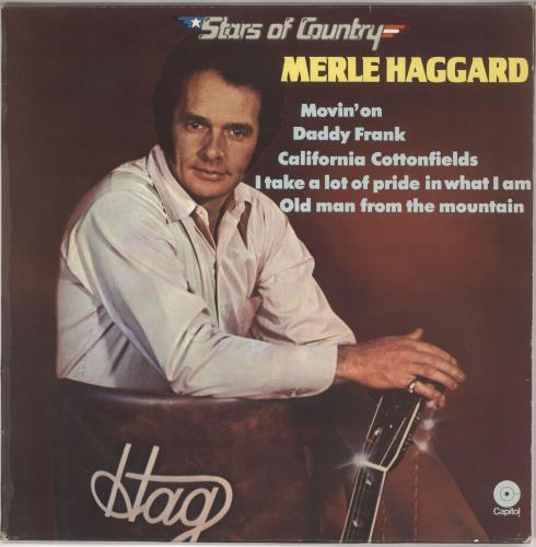 Merle Haggard Stars Of Country vinyl LP album (LP record) Dutch MBJLPST723067