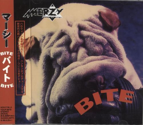 Merzy Bite CD album (CDLP) Japanese ZGTCDBI718703