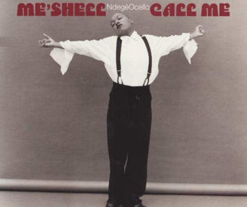 "Me'Shell Ndegeocello Call Me CD single (CD5 / 5"") UK MSLC5CA85075"
