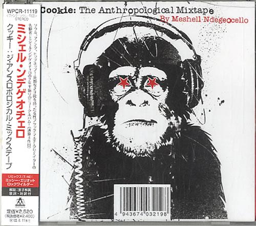 Me'Shell Ndegeocello Cookie: An Anthropological Mixtape CD album (CDLP) Japanese MSLCDCO609106