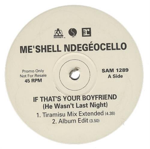 """Me'Shell Ndegeocello It That's You Boyfriend [He Wasn't Last Night] 12"""" vinyl single (12 inch record / Maxi-single) UK MSL12IT367200"""