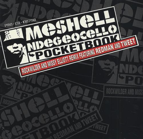 "Me'Shell Ndegeocello Pocketbook CD single (CD5 / 5"") US MSLC5PO216259"
