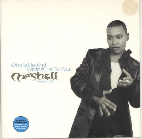 """Me'Shell Ndegeocello Who Is He And What Is He To You 12"""" vinyl single (12 inch record / Maxi-single) UK MSL12WH711661"""