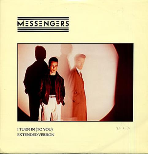 """Messengers I Turn In (To You) 12"""" vinyl single (12 inch record / Maxi-single) UK MES12IT07668"""