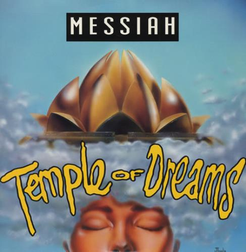 "Messiah (90s) Temple Of Dreams 12"" vinyl single (12 inch record / Maxi-single) UK MA412TE393228"