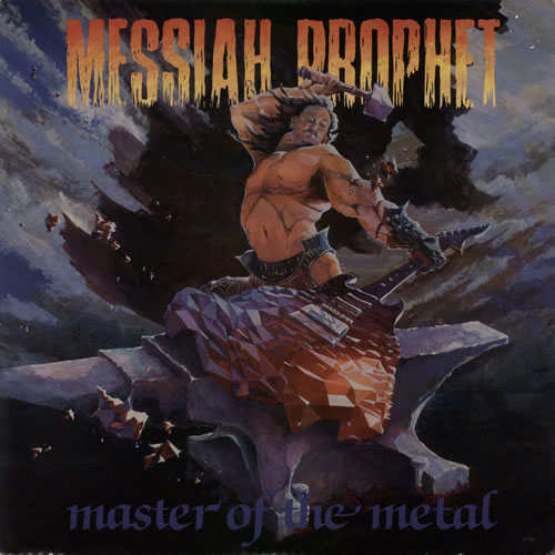 Messiah Prophet Master Of The Metal vinyl LP album (LP record) US NXSLPMA594570
